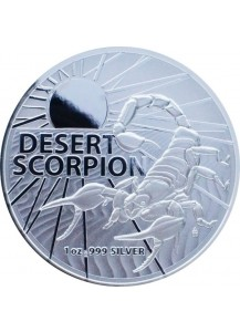 Australien 2022  DESERT SCORPION  Australians most dangerous Silber 1 oz