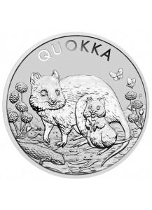 Australien 2021  QUOKKA  Silber 1 oz