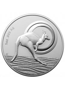 Australien 2021 Outback Majesty Känguru RAM Silber 1 oz
