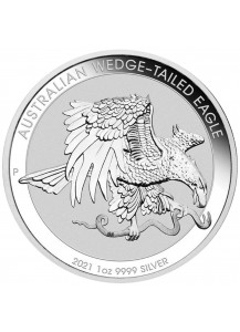 Australien 2021  Wedge-Tailed Adler  Silber 1 oz