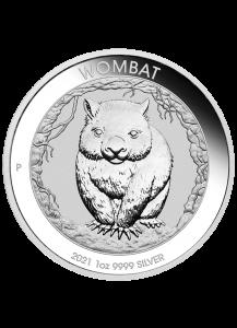 Australien  2021  WOMBAT  Silber 1 oz