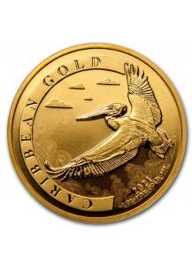 Barbados 2021 Karibischer Pelikan Gold 1 oz