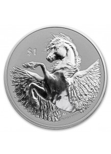 British Virgin Island 2021  PEGASUS  Silber 1 oz