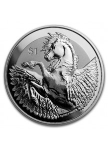 British Virgin Island 2018  PEGASUS  Silber 1 oz