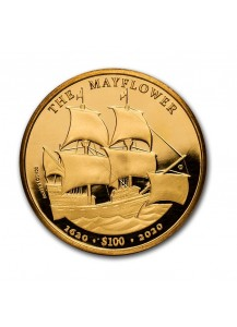 British Virgin Island 2020  THE MAYFLOWER  Gold 1 oz