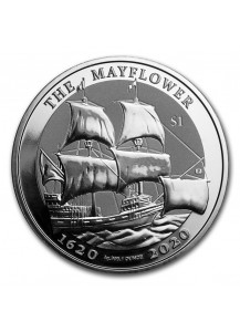 British Virgin Island 2020  THE MAYFLOWER  Silber 1 oz