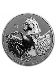 British Virgin Island 2020  PEGASUS  Silber 1 oz