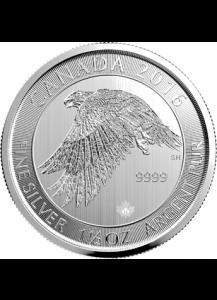Canada 2016  Schneefalke 1 1/2 oz Silber