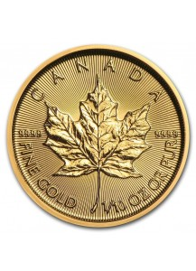 Canada 2020 Maple Leaf  Gold 1/10 oz