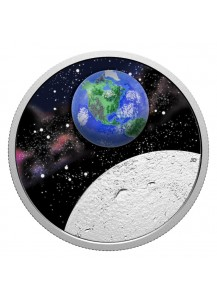 Canada 2020 Mother Earth- Our Home Silber 1 oz mit Borosilikatglas