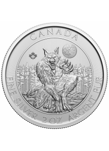 Canada 2021  WEREWOLF - Creatures of the North Silber 2 oz