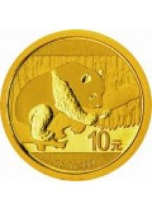 China 2016 Panda  Gold 1 g