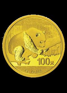 China 2016   Panda  Gold 8 g