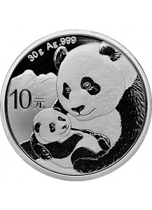 China 2019  Panda  Silber 30 g