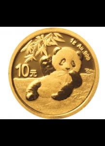 China 2020   Panda  Gold 1 g
