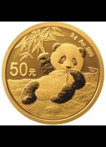 China 2020  Panda   Gold 3 g