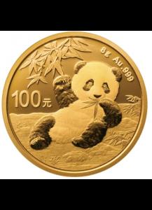 China 2020   Panda  Gold 8 g