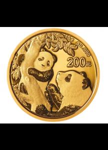 China 2021   Panda  Gold 15 g