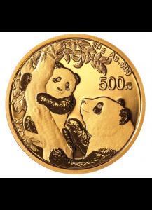 China 2021  Panda    Gold 30 g