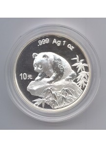 China 1999  Panda  Silber 1 oz