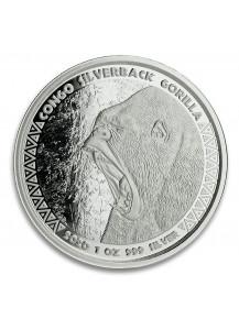 Congo 2020  Silverback -  Silberrücken Gorilla Silber