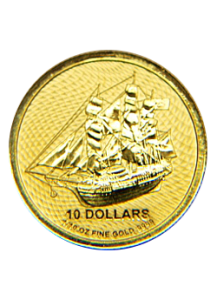 Cook Island 2020  Bounty  Gold 1/10  oz