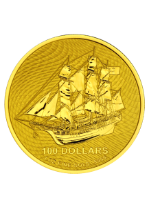 Cook Island 2020  Bounty  Gold 1  oz