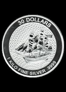 Cook Island 2020  Bounty  Silber 1 Kilo
