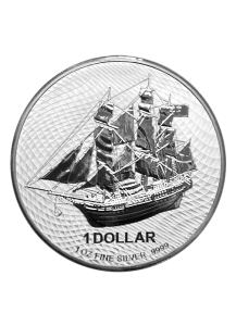 Cook Island 2020  Bounty  Silber 2 oz