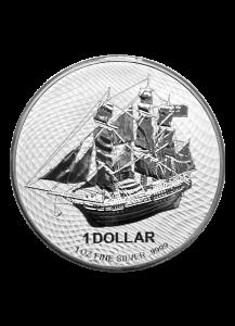 Cook Island 2021  Bounty  Silber 1 oz