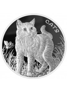 Fiji 2021 CATS Silber 1 oz Fidschi Inseln