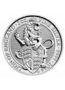 GB 2016   Queens Beast  Lion - Löwe Silber 2 oz