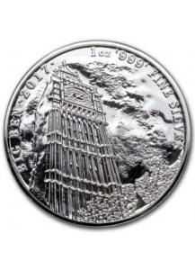 GB 2017  Big Ben Landmarkserie  Silber 1 oz
