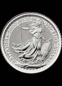 Großbritannien 2020  Britannia  Silber 1/10  oz