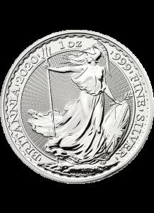 Großbritannien 2020  Britannia  Silber 1 oz