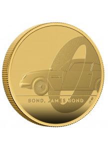 Großbritannien 2020  JAMES BOND 007 - Aston Martin Gold 1 oz PP