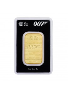 GB 2020  JAMES BOND 007 NO TIME TO DIE Goldbarren 1 oz - Großbritannien