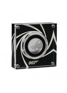 Großbritannien 2020  JAMES BOND 007 - Aston Martin Silber 1/2 oz PP