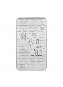 GB 2020  JAMES BOND 007 NO TIME TO DIE Silberbarren 10 oz - Großbritannien