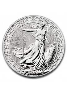 Großbritannien 2020    Oriental Border  Britannia    Silber 1 oz