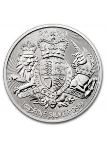 Großbritannien 2020  Royal Arms    1 oz Silber