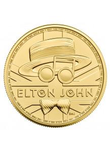GB 2020  Elton John Music Legends  Gold 1 oz