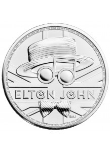 GB 2020  Elton John Music Legends  Silber 1 oz