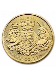 Großbritannien 2021  Royal Arms    1 oz Gold
