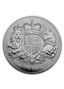 Großbritannien 2021  The Royal Arms  10 oz  Silber