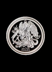 INSEL MAN 2018    ANGEL  Silber 1 oz
