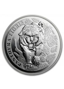 Laos 2020  TIGER - PANTHERA TIGRIS  Silber 1 oz