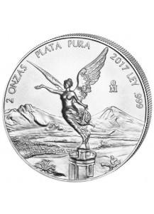 Mexiko 2017 Libertad Silber 2 oz  sofort lieferbar