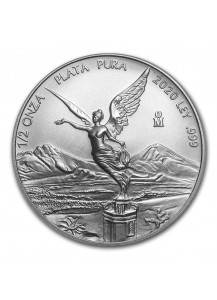 Mexiko 2020 Libertad   Silber 1/2 oz