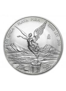 Mexiko 2020  Libertad   Silber 1/4 oz